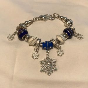 Brighton Snowflake holiday bracelet